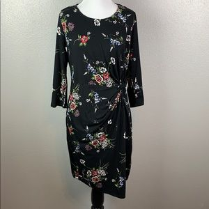 Stitch fix none Britton floral little black dress